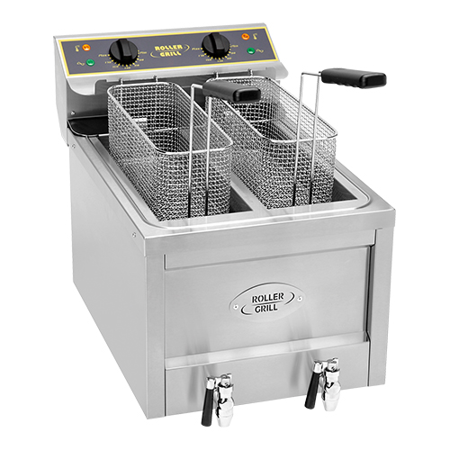 Roller grill friteuse 8 8 liter - Friteuse sans huile professionnelle roller grill ...